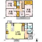 (仮)D-room砂川戸建の画像