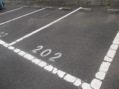 【駐車場】ベルハイムA