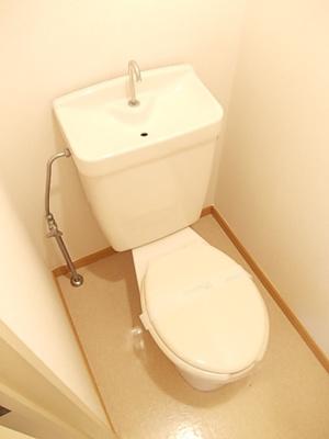 【トイレ】ベルハイムA