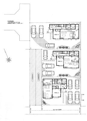 【区画図】ハートフルタウン宇都宮市宝木町2丁目3期 新築一戸建て