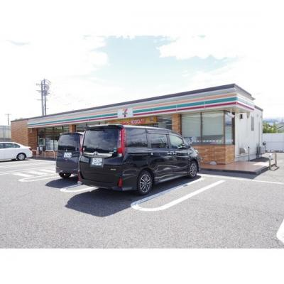 コンビニ「セブンイレブン松本二子橋店まで395m」