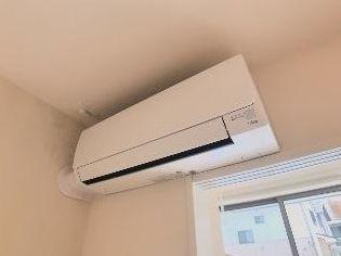 エアコン完備で1年中快適