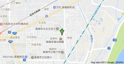 【地図】ボナールハイツ (株)Roots