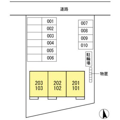 【区画図】ラ・セーヌ
