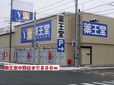 薬王堂中野店まで800m