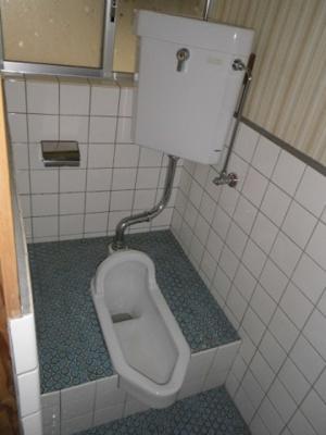 【トイレ】上本アパート