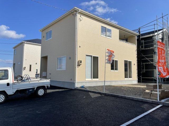 【外観パース】【新築】古川小泉 2号棟 全4棟 10月完成