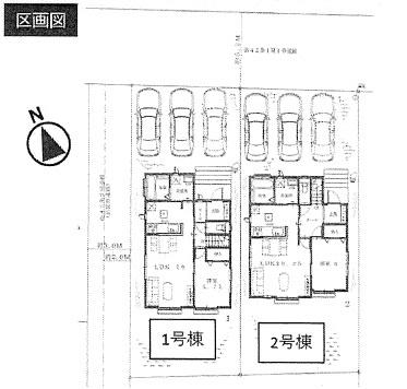 【区画図】笠間市平町新築戸建 3期