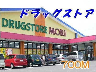 モリまで700m