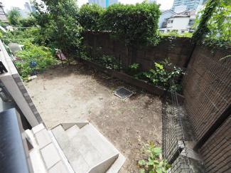 2021年8月6日撮影 南面の専用庭