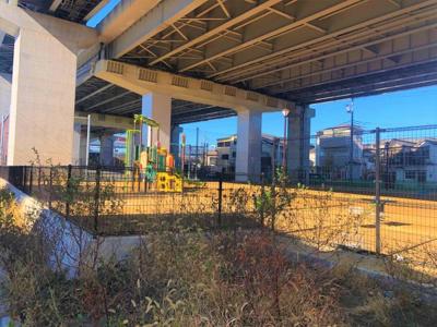 【前面道路含む現地写真】江戸川区西小松川町 新築戸建