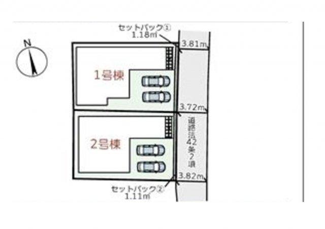 【区画図】明石市林3期-2号棟