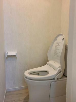 【トイレ】富士見台ハイツ