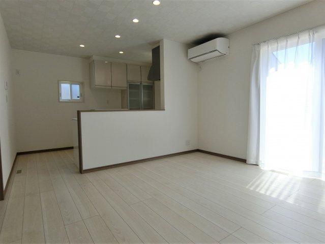 LDKにはエアコン1台設置されています。高気密高断熱住宅で冷暖房費も節約できます。
