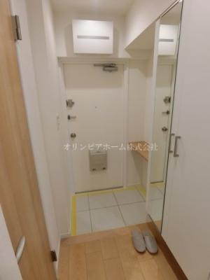 【玄関】大島ロイヤルマンション 5階 角 部屋 リ ノベーション済