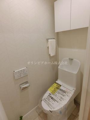 【トイレ】大島ロイヤルマンション 5階 角 部屋 リ ノベーション済