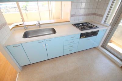 【キッチン】豊中ガーデンハウス・ホワイティルW棟