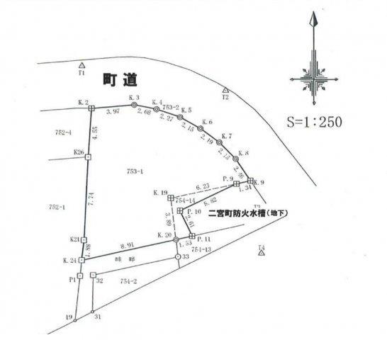 敷地面積43.97平米です。
