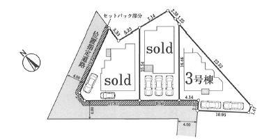 【区画図】さいたま市北区盆栽町第5期