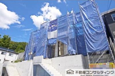 【前面道路含む現地写真】垂水区名谷町 新築戸建 4号棟