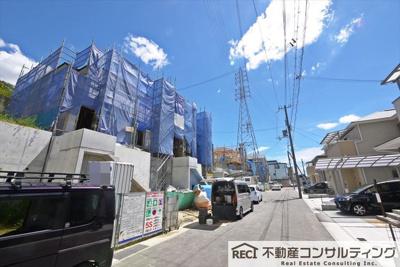 【洗面所】垂水区名谷町 新築戸建 5号棟