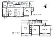 国分寺市富士本3丁目 新築戸建 全2棟 1号棟の画像