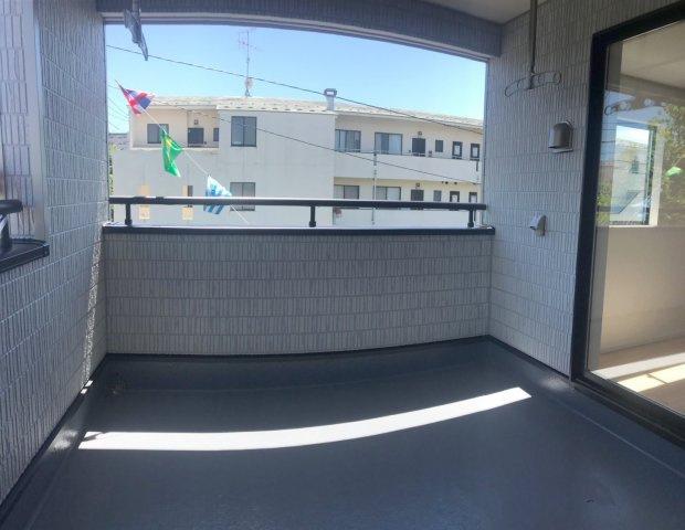 【バルコニー】松戸市新松戸北第4 全3棟