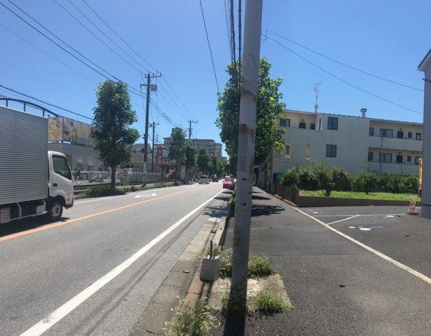 【前面道路含む現地写真】松戸市新松戸北第4 全3棟