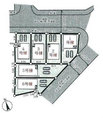 【区画図】三木市別所町高木第4 5号棟
