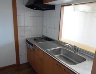 【キッチン】《高積算!鉄骨造》富山市才覚寺一棟マンション