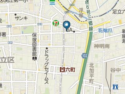 【地図】ユーストマ六町(ユーストマロクチョウ)
