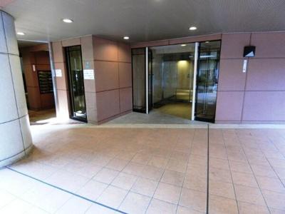 【エントランス】ソシエ北大阪壱期棟