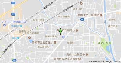【地図】ウインディア五百住B (株)Roots