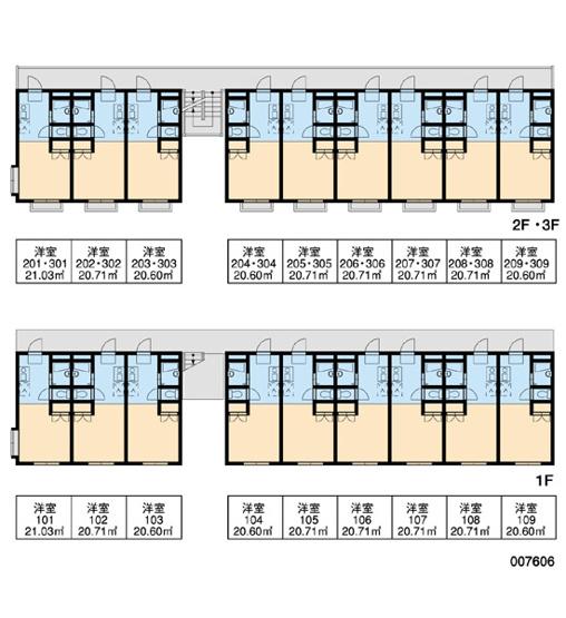 【区画図】レオパレスTatty