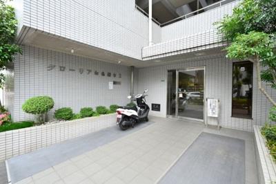 【エントランス】グローリア初穂桜台Ⅱ