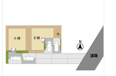 【区画図】福岡市南区長住一丁目