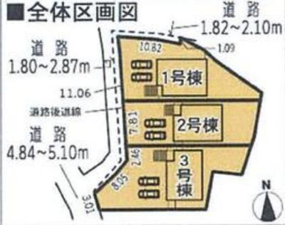 【外観】知多市新知字西ノ海道の新築戸建て2号棟
