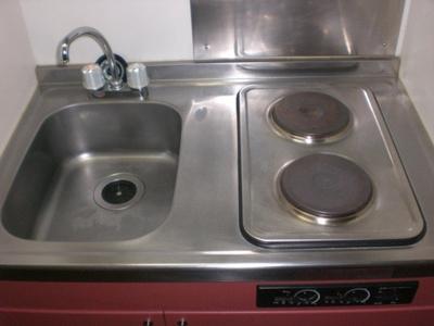 【キッチン】レオパレスチェリーガーデンB