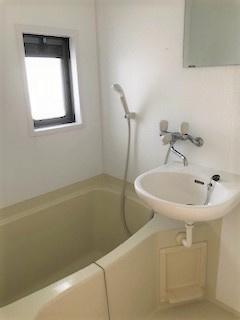 【浴室】クマザワハイツ