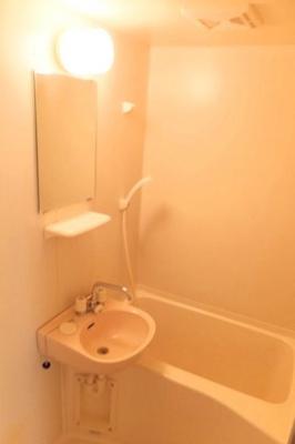 【浴室】レオパレス深大