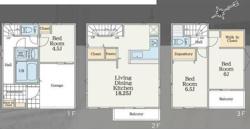 多摩区布田 新築戸建 全3棟の画像