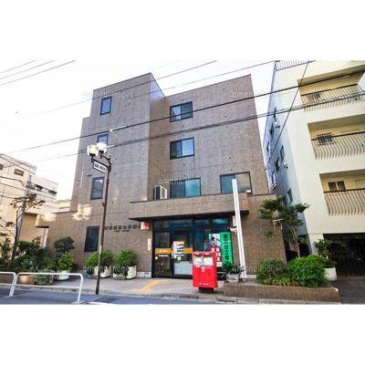 郵便局「新宿西落合郵便局まで301m」