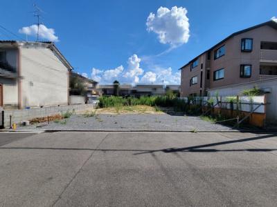 【外観】北区小山北玄以町 建築条件無し 売土地