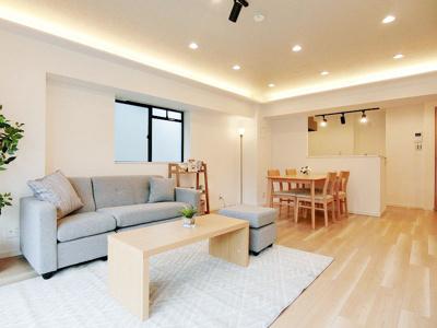 【居間・リビング】アイランドマンション西横浜
