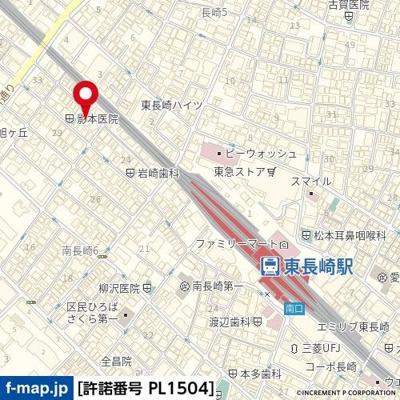 【地図】メゾンフレール