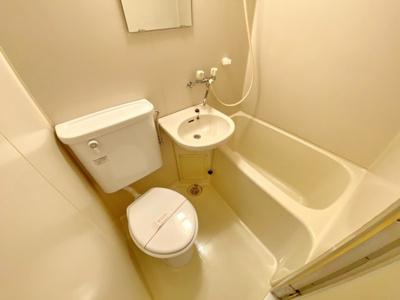 【浴室】ポケットハイツ本厚木II