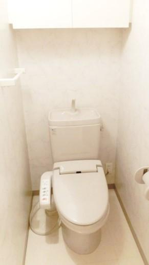 【トイレ】ガラ・グランディ中野