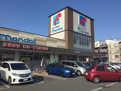 万代東岸和田店まで637m