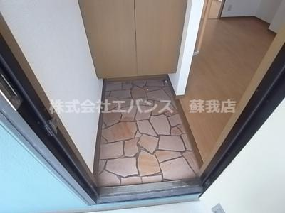 【玄関】サニーコーポハセベ