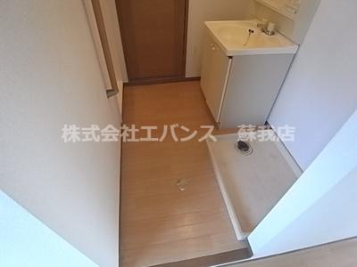【洗面所】サニーコーポハセベ